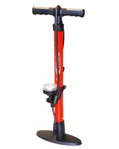 Pompe acier avec manomètre
