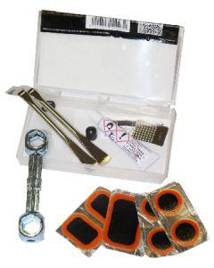 Set de réparation en boîte avec outils