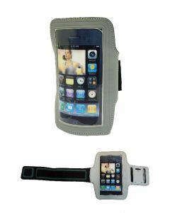 Brassard réfléchissant gris pour smartphone