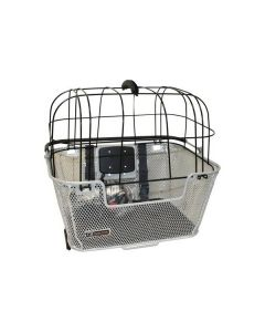 Panier guidon et porte-bagage avec click pour chien